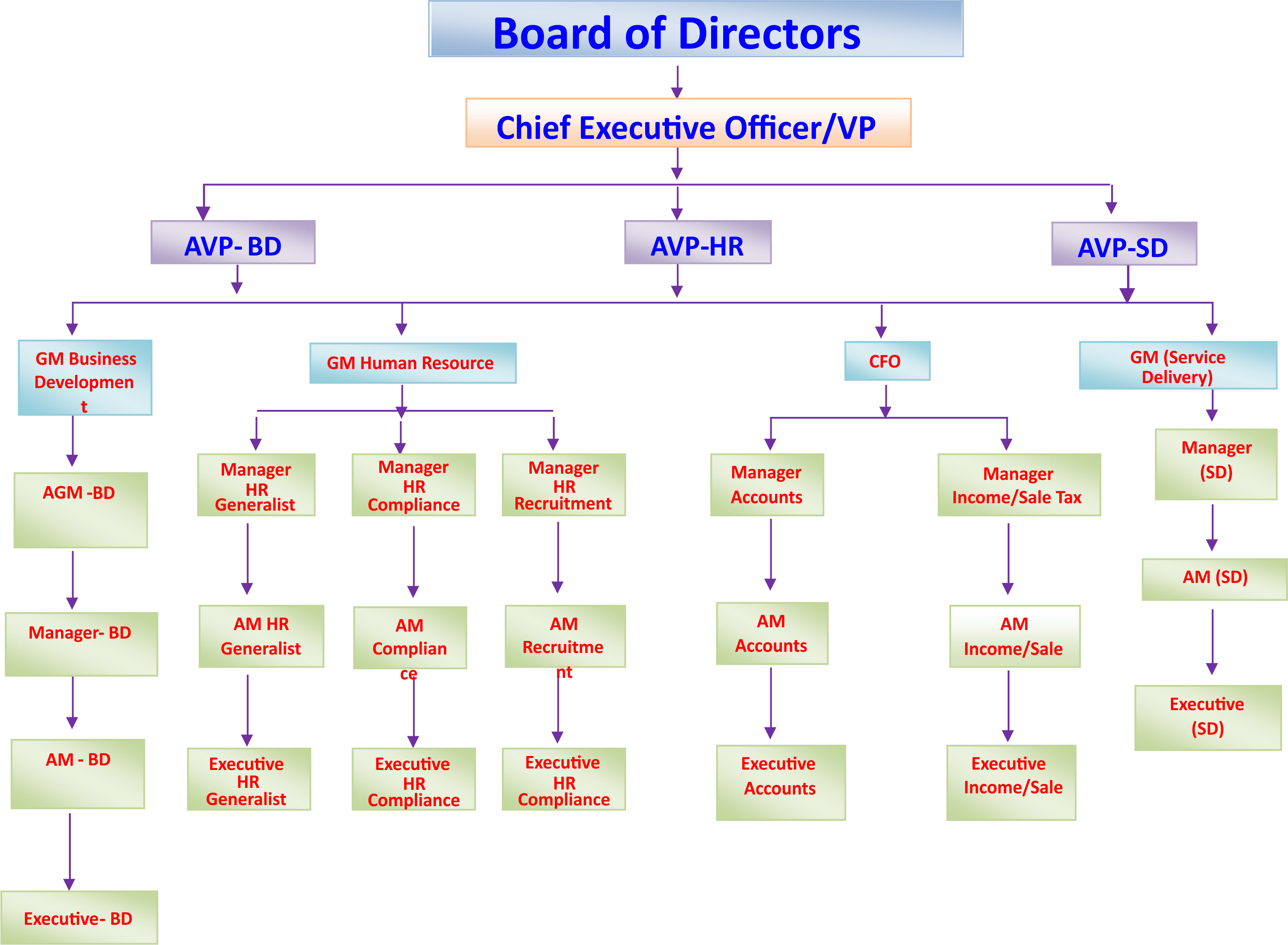 org structure(1)